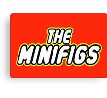 THE MINIFIGS Canvas Print