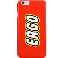 ERGO, Customize My Minifig iPhone Case/Skin