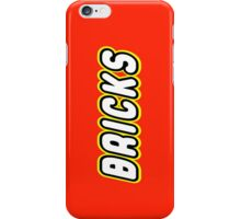 BRICKS, Customize My Minifig iPhone Case/Skin