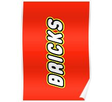 BRICKS, Customize My Minifig Poster