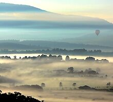 Yarra Valley Sunrise by Ern Mainka