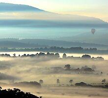 Yarra Valley Sunrise by Ern Mainka