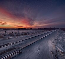 Winter Rails 807814 by Ian McGregor