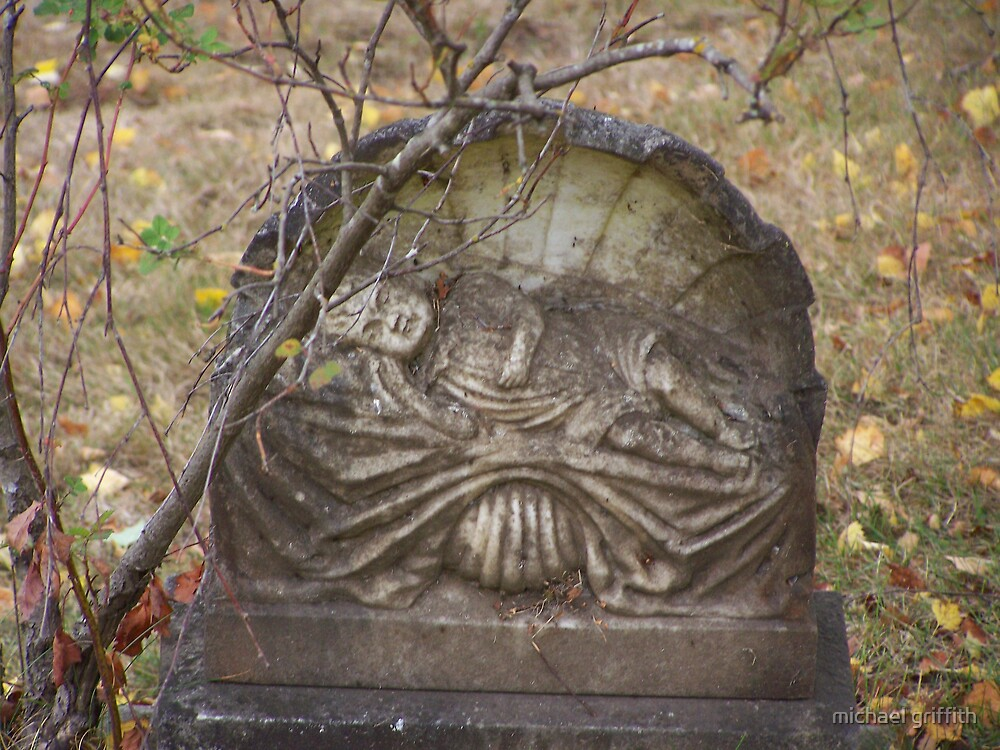 old headstone by michael griffith