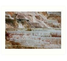 Yellowstone Formations Art Print