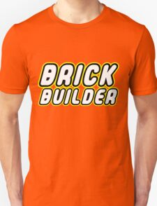 BRICK BUILDER, Customize My Minifig T-Shirt