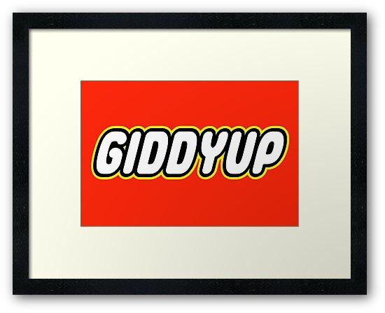 GIDDYUP by Customize My Minifig