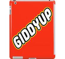 GIDDYUP iPad Case/Skin