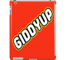 GIDDYUP iPad Case/Skin