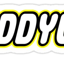 GIDDYUP Sticker