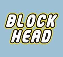 BLOCK HEAD Baby Tee