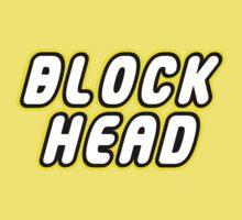BLOCK HEAD Kids Tee