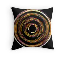 Transmission Wire Throw Pillow