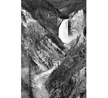 Yellowstone National Park Waterfall Photographic Print