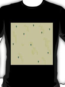 Glitch Ix Land  wall fruit tile 01 T-Shirt