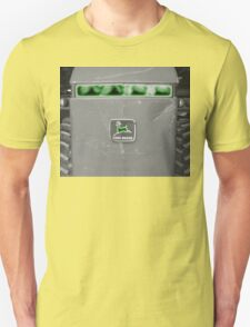 Farm Tractor John Deere Photograph Design T-Shirt