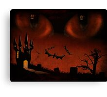 Evil eyes Canvas Print