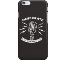 Desecrate - Heavy Wieghts Of L.C PUNX 2 iPhone Case/Skin