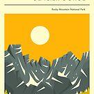 ROCKY MOUNTAIN NATIONAL PARK  by JazzberryBlue