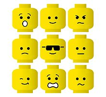 'Minifig Moods' by Customize My Minifig