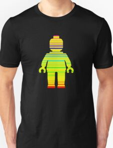 Striped Minifig Unisex T-Shirt