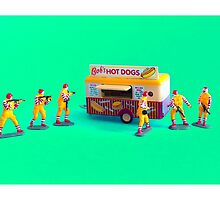 Fast Food Turf War! by TimConstable