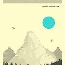 GLACIER NATIONAL PARK by JazzberryBlue
