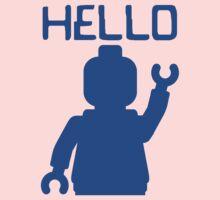 Minifig Hello Baby Tee
