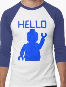 Minifig Hello Men's Baseball ¾ T-Shirt