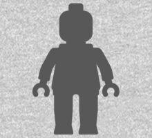 Minifig [Dark Grey], Customize My Minifig Kids Clothes