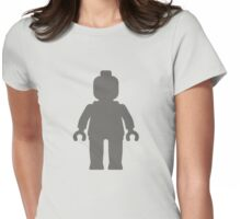 Minifig [Dark Grey], Customize My Minifig Womens Fitted T-Shirt