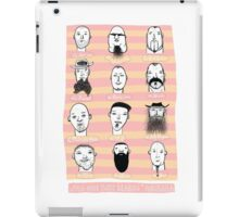 Beards of Australia iPad Case/Skin