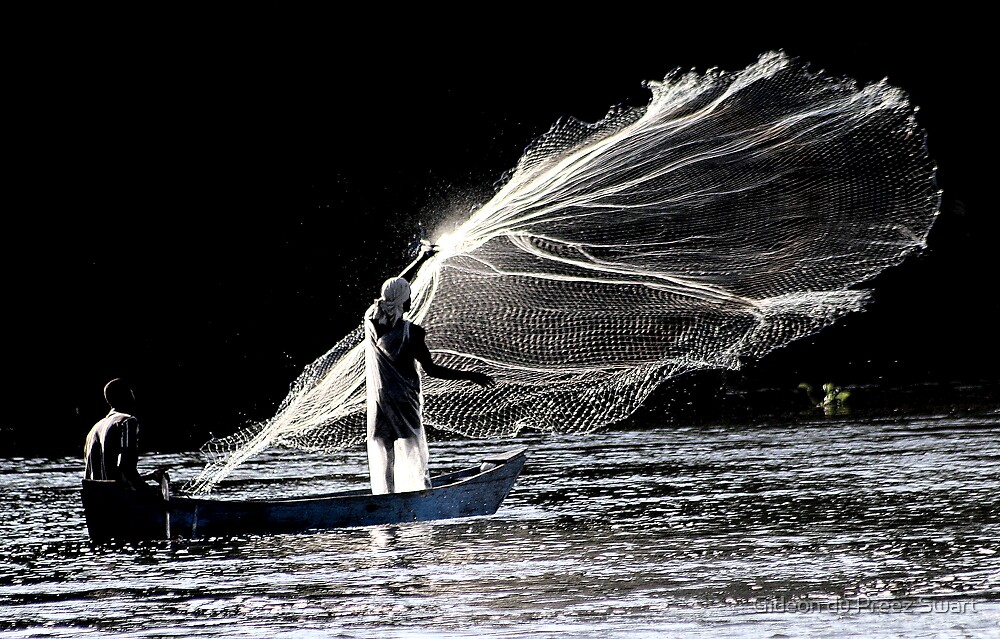 art of fishing by Gideon du Preez Swart