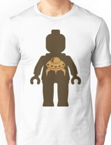Minifig with UFO  Unisex T-Shirt