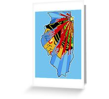 Illinois Blackhawks Greeting Card