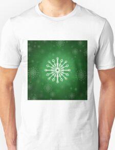 Green Winter Unisex T-Shirt