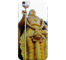 The Golden Buddha - Batu Caves, Malaysia. iPhone Case/Skin