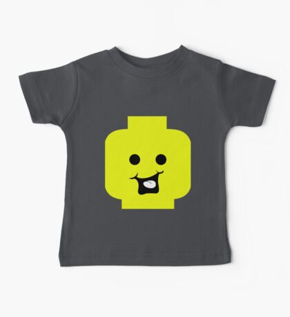 Cheeky Minifig Head Baby Tee