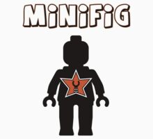 Minifig [Black], Customize My Minifig Star Logos T-Shirt