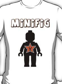 Minifig [Black], Customize My Minifig Star Logos T-Shirt