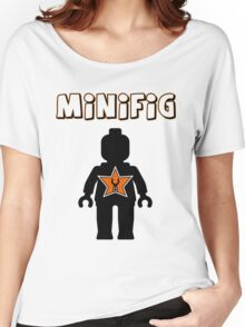 Minifig [Black], Customize My Minifig Star Logos Women's Relaxed Fit T-Shirt