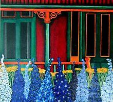 Cottage Garden by Anni Morris