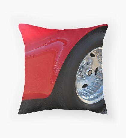 Serious Rubber Throw Pillow