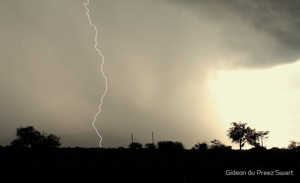 daylight strike by Gideon du Preez Swart
