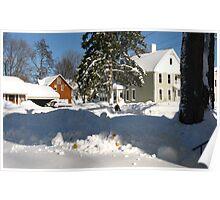 Snow Daze ~ Just Across The Street Poster