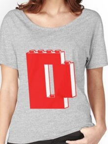 THE LETTER D, Customize My Minifig Women's Relaxed Fit T-Shirt