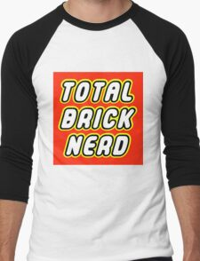 TOTAL BRICK NERD Men's Baseball ¾ T-Shirt
