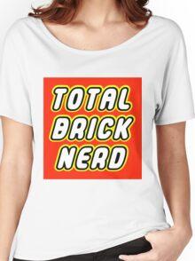 TOTAL BRICK NERD Women's Relaxed Fit T-Shirt