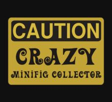 Caution Crazy Minifig Collector Sign Kids Clothes