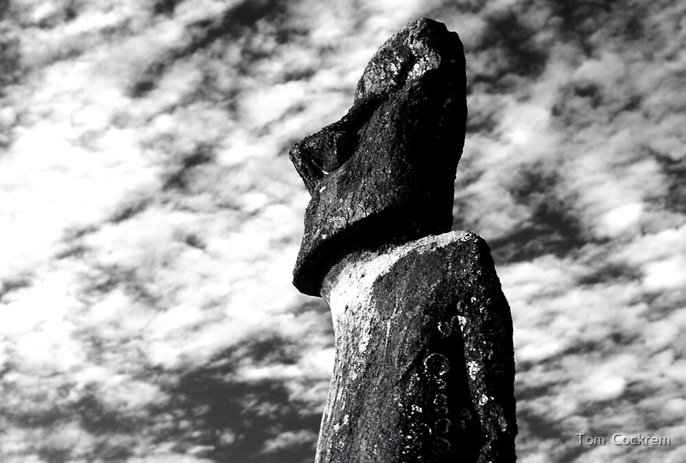 moai by Tom  Cockrem